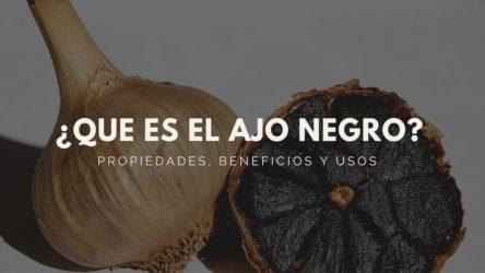 ¿Que es el ajo negro? Propiedades, beneficios y usos