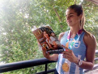 """Leoncita: """"Apenas pisamos la Villa Olímpica comenzamos con la dieta sin gluten"""""""