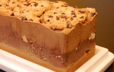 Postre Helado Dulce de Leche y Cookies - Cremolatti