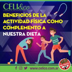 Actividad física como complemento a la Dieta Sin Tacc