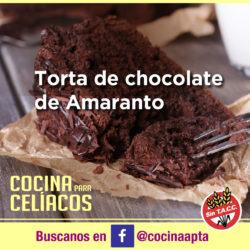 Torta de chocolate de Amaranto